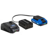 20V Cordless Power Inverter with 2.0 Ah Lithium-Ion Battery and Charger