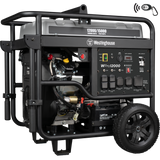 WPro12000 generator on white background