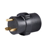 Generator Plug Adapter: 30A 120V TT-30P to 14-50R