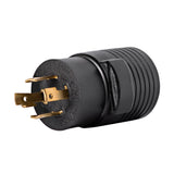 Generator Plug Adapter: 50A 120/240V L14-30P to 14-50R