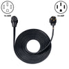 25' Generator Cord: 50A 120/240V 14-50P to 14-50R