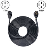 50' Generator Cord: 50A 120/240V 14-50P to 14-50R