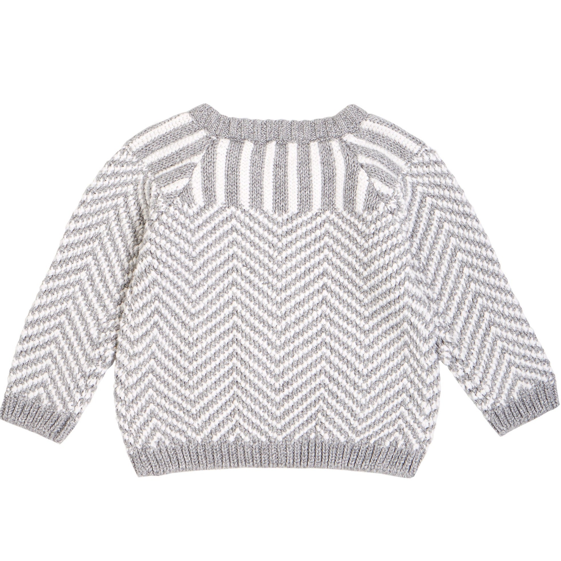 Lucas Knit Baby Sweater