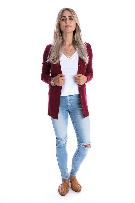 Jordan Women's Cardigan Sweater