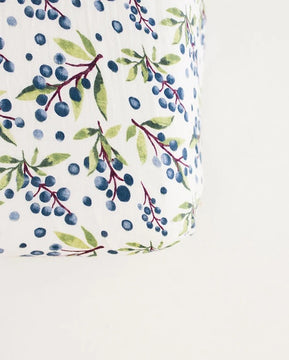 Huckleberry Fitted Baby Crib Sheet