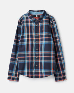Liam Plaid Button-up