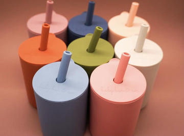 Baby Bar & Co. Silicone Cup with Straw