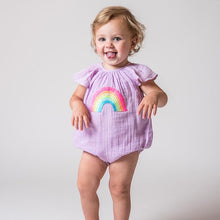 Load image into Gallery viewer, Lauren Baby Girl Bubble Onesie