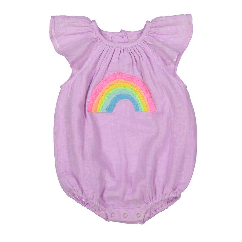 Lauren Baby Girl Bubble Onesie