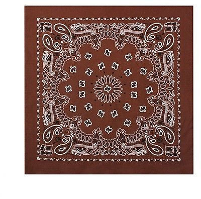 Brown Trainmen Bandana