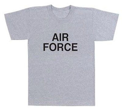 Official Issue Air Force Grey Physical Training T-Shirt