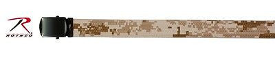 Desert Digital Camouflage Reversible Web Belt 54