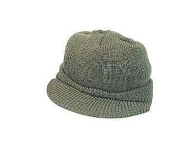 Genuine GI Olive Drab Wool Jeep Cap Made in the USA