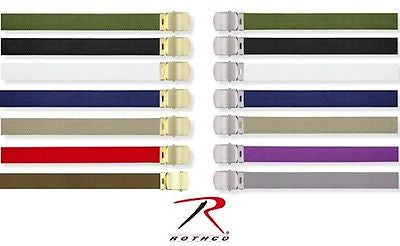 Military Color Web Belts 44
