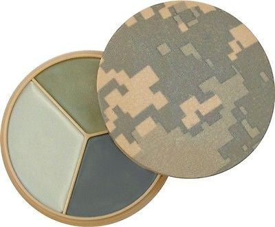 Military ACU digital Camo 3 Color Face Paint Compact