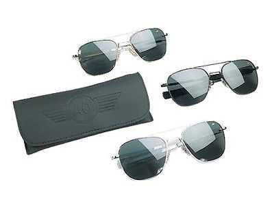 Official US Air Force Pilots Sunglasses by American Optics Eyewear 57mm