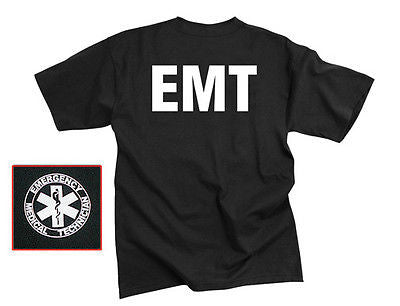 Official Issue E.M.T Double Sided Raid T-Shirt