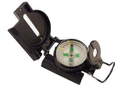 Black Tactical Military Marching Compass