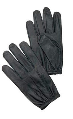 Ultra Thin Black Leather Official Police Duty Search Gloves NEW sizes Small - XL