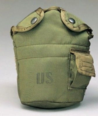 OFFICIAL US ARMY CANTEEN COVER - OLIVE DRAB