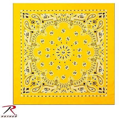 Yellow Trainmen Bandana