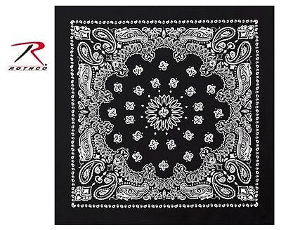 Black Trainman Bandana
