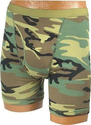 Woodland Camo Boxer Briefs