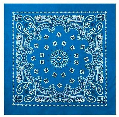 Royal Blue Trainman Bandana