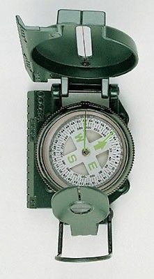 Olive Drab Military Marching Compass
