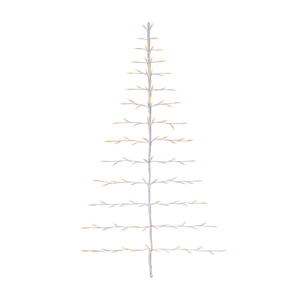 Christmas Hanging Twig Tree Light Decoration, 112 Warm White LEDs, Low Voltage