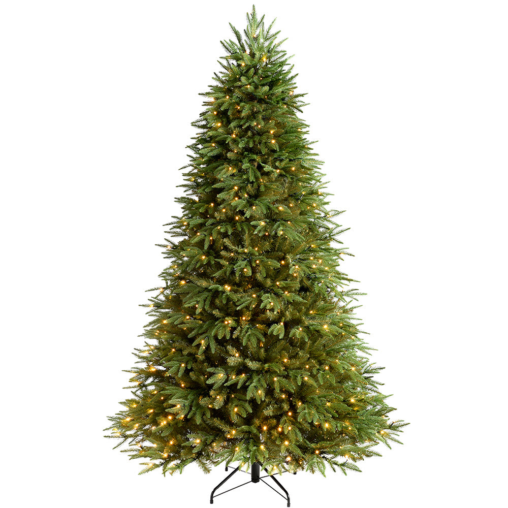 The Royal Fir Pre-Lit Multi-Function Christmas Tree with LED Lights