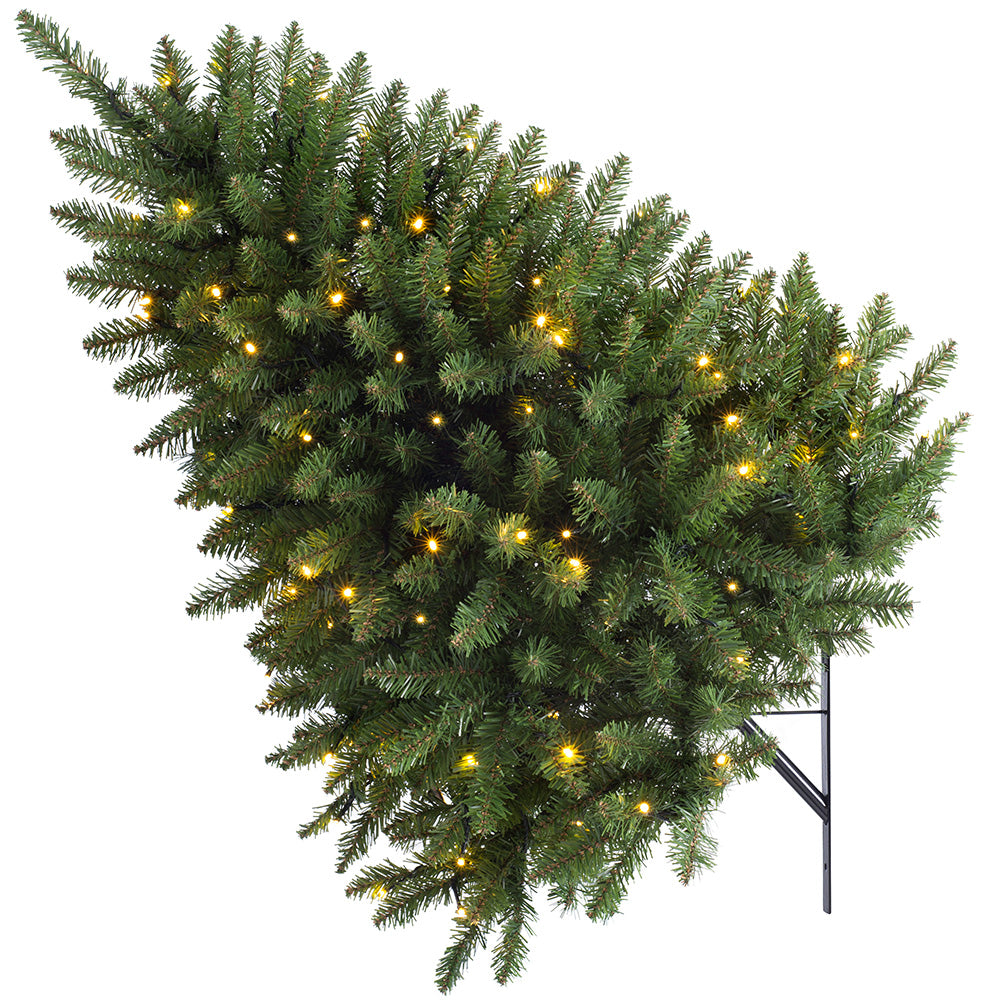 Pre-lit Wall Mounted Tree, Multi Function LED Light