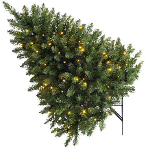 Pre-lit Wall Mounted Tree, Multi Function LED Lights, 3 feet/ 90cm