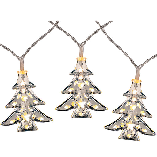Pre-Lit Warm White Christmas Tree Light String 1.8 m