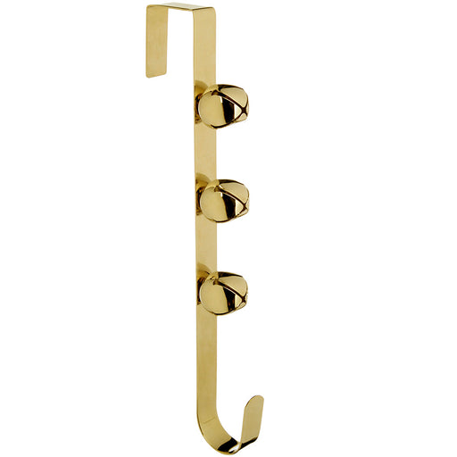 Bells Wreath Hanger Christmas Decoration, 38 cm - Gold