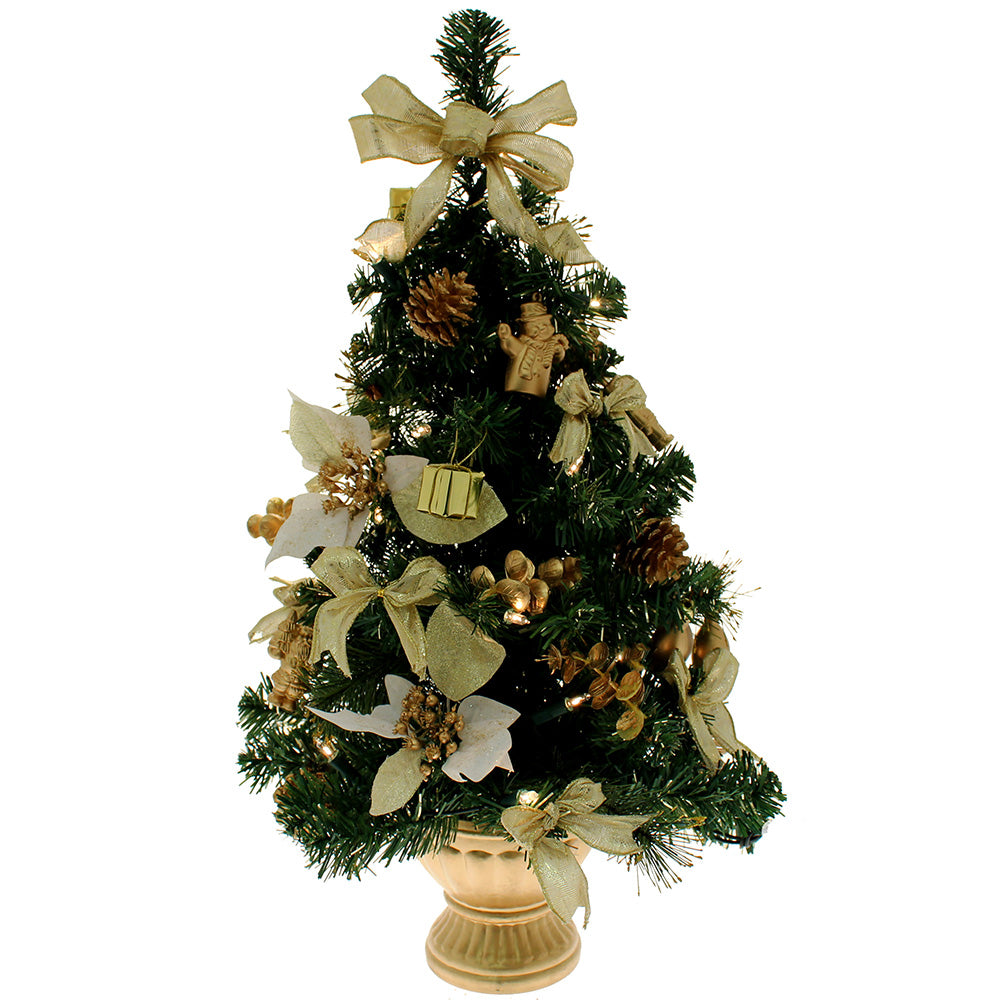 "New 20 Ft Christmas House 1//2/"" Garland Ornament Holiday Decor ~ Gold"