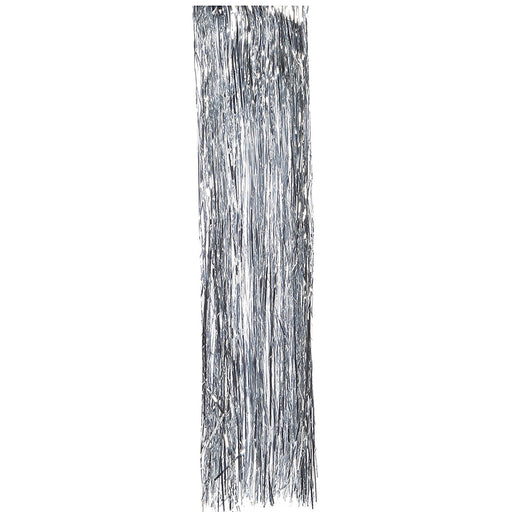 Fine Christmas Tree Decoration Lametta and Tinsel Shreds, 45 cm - Silver