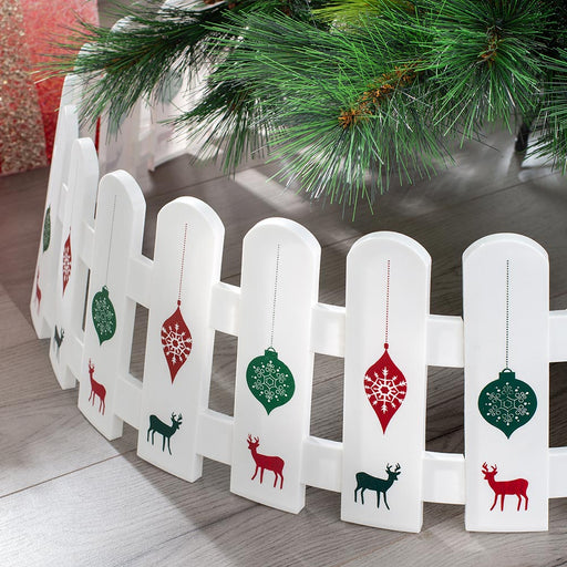 Decorative Picket Fence Tree Skirt 68 cm