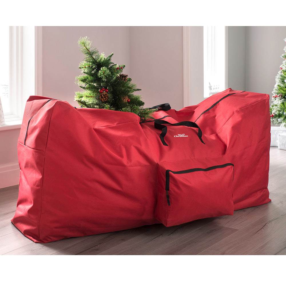9ft Christmas Tree Storage Bag, Red, 165 cm