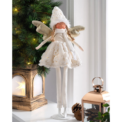 Standing Christmas Angel Decoration 56 cm