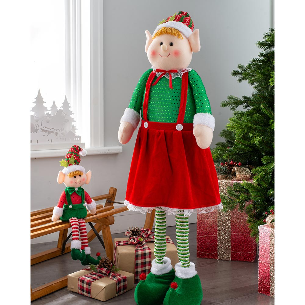 Standing Elf with Extendable Legs 60 - 109 cm