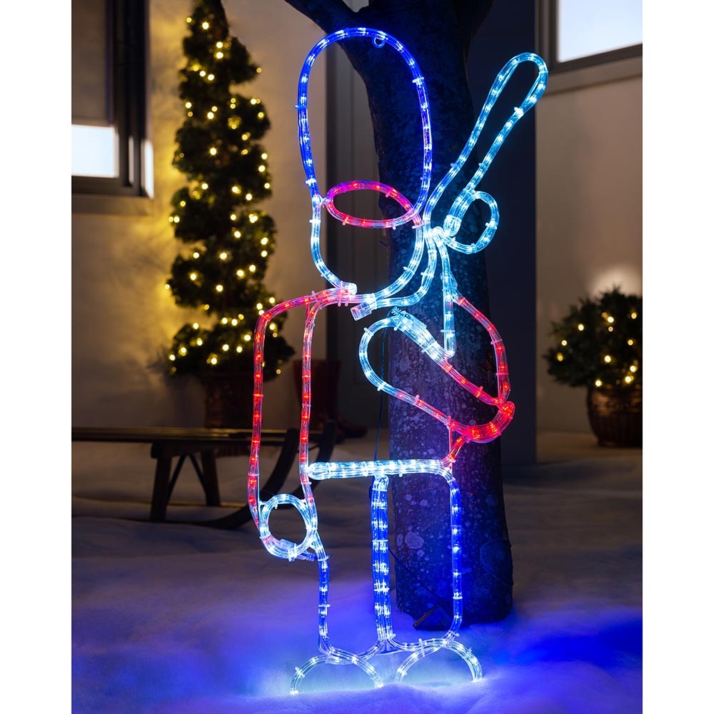 Queens Guard Soldier Rope Light Silhouette 90 cm