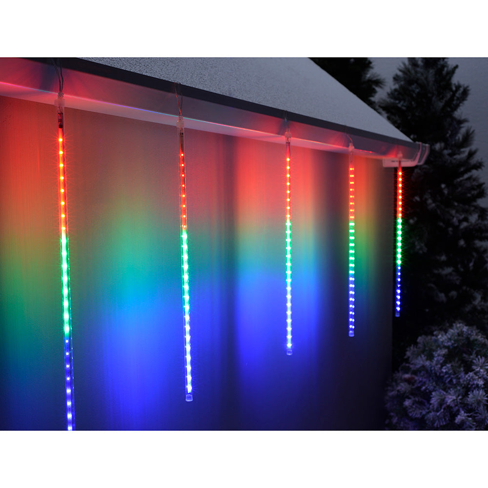 Drop Snowing Snowfall/Meteor Shower Tube with 150-LED, 50 cm, Set of 5