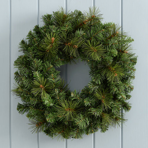 51 cm Large Victorian Pine Christmas Wreath Decoration