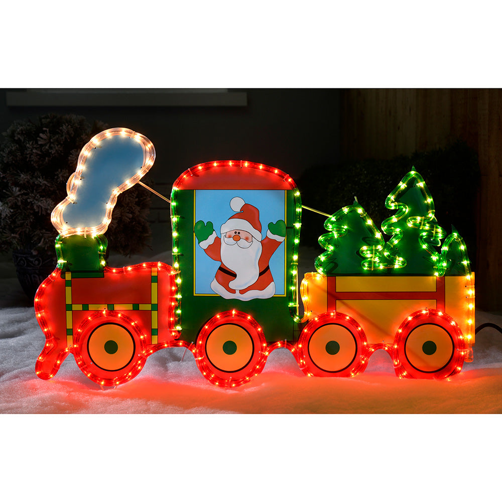 78 cm Large Train Rope Lights Silhouette Christmas Decoration