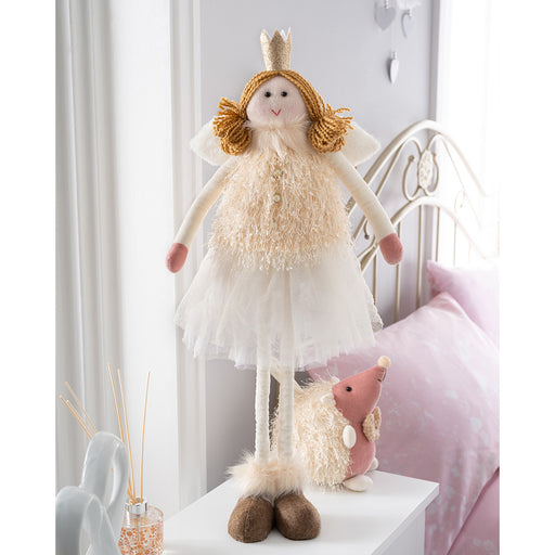 Christmas Fairy Figurine with Adjustable Legs 40 cm - 70 cm