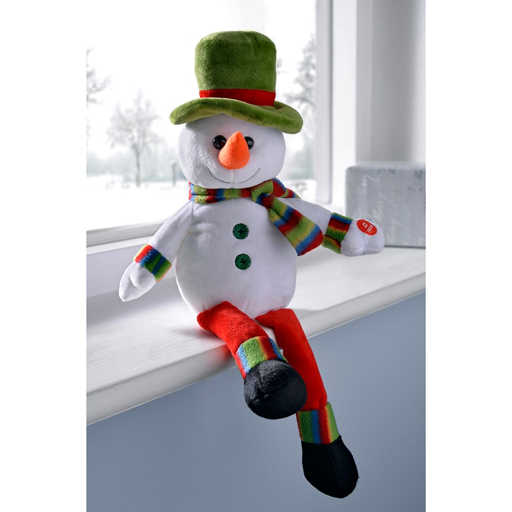 Musical Waving Christmas Decoration, Multi-Colour