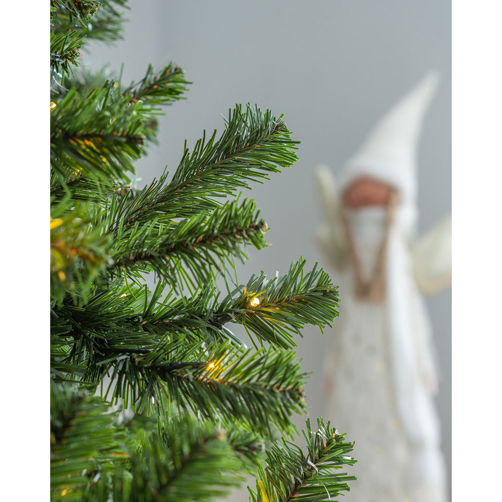 Pre-Lit Spruce Multi-Function Christmas Tree