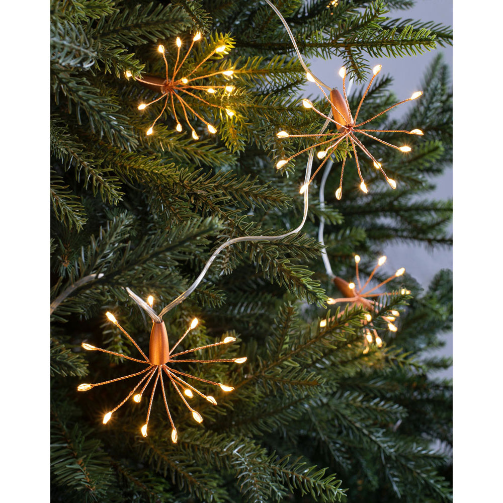 Christmas Firework Light String Decoration 150 Copper Wire Led Lights We R Christmas