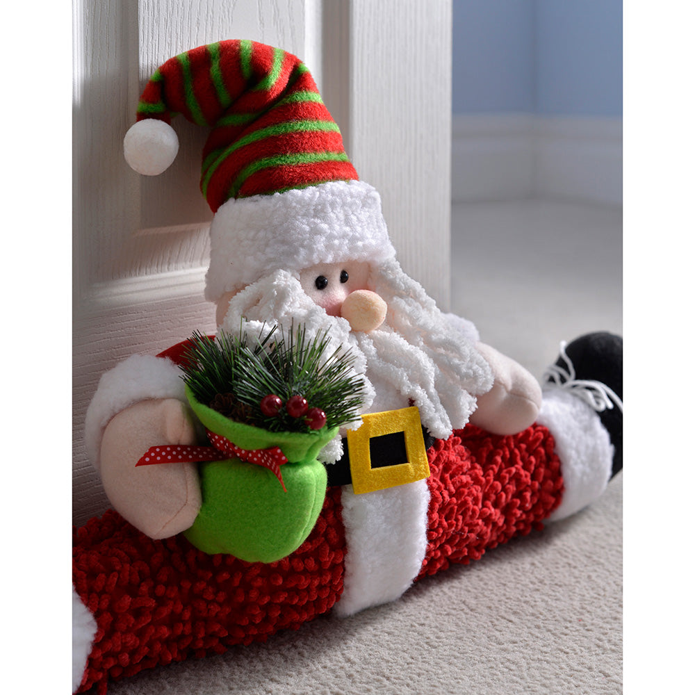 60 cm Santa Door Stopper Christmas Decoration